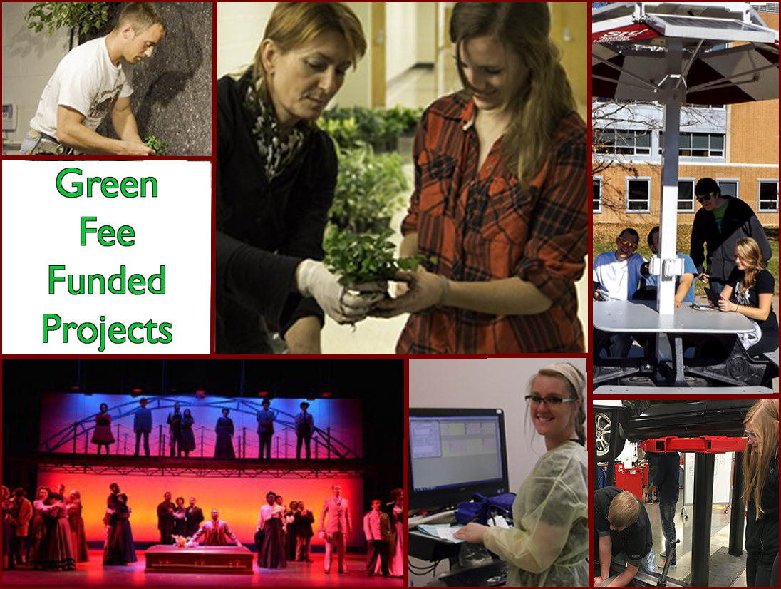 Green Fee Funded Projects