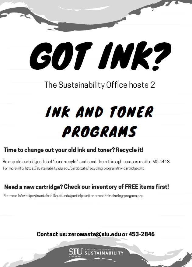 Ink and Toner Programs Flyer