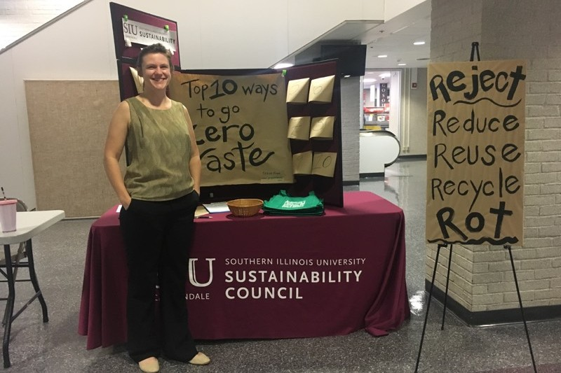 Siu sustainability council table