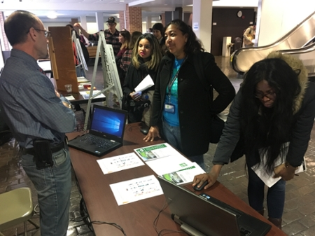 Students sign up to take action on Goal #13 - Climate Action