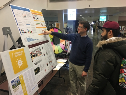 Student explores Goal #7 on Renewable Energy